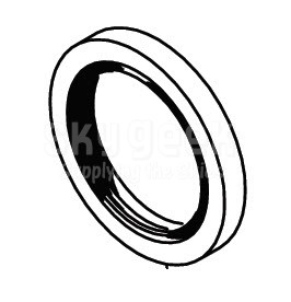 Cleveland Wheel & Brake 154-08900 Molded Grease Seal