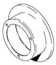 Cleveland Wheel & Brake 164-11501 Chrome Brake Disc