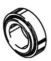 Cleveland Wheel & Brake 214-00700 Tapered Roller Bearing Cup