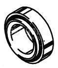 Cleveland Wheel & Brake 214-00900 Tapered Roller Bearing Cup