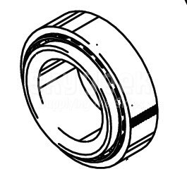 Cleveland Wheel & Brake 214-01200 Tapered Roller Bearing