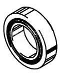 Cleveland Wheel & Brake 214-03000 Tapered Roller Bearing Cup