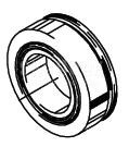 Cleveland Wheel & Brake 214-03700 Tapered Roller Bearing Cup