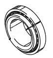 Cleveland Wheel & Brake 214-04600 Tapered Roller Bearing Cup