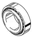 Cleveland Wheel & Brake 214-04700 Tapered Roller Bearing