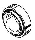 Cleveland Wheel & Brake 214-39412 Tapered Roller Bearing Cup