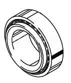 Cleveland Wheel & Brake 214-39422 Tapered Roller Bearing Cup