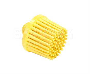 "3M™ 048011-18706 Scotch-Brite™ RD-ZB Roloc™ Yellow 1"" X 5/8"" 80 Grit Tapered Grade Bristle Disc"