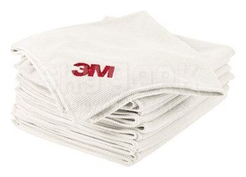 "3M™ 048011-23649 2011 12.5"" X 14.0"" White Hi Performance Cloth - 50 Cloths/Box"