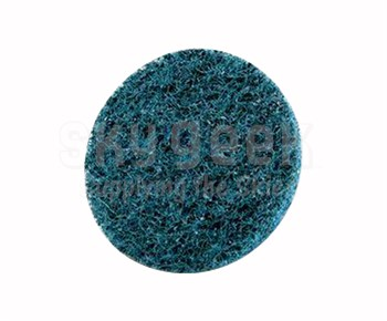 "3M™ 048011-25770 Scotch-Brite™ Roloc™ Sc-Dm Blue 2"" Very Fine Surface Conditioning Disc - 50 Discs/Pack"