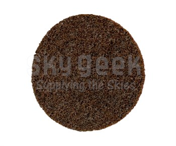 "3M™ 048011-33796 Scotch-Brite™ Roloc™ Sl-Dr Black 3"" Coarse SL Surface Conditioning Disc - 100 Discs/Case"