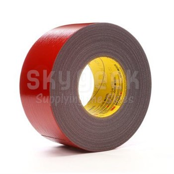 """3M™ 048011-53914 Performance Plus™ 8979N Red 12.1 Mil Duct Tape - 1.88"""" x 60 Yard Roll"""