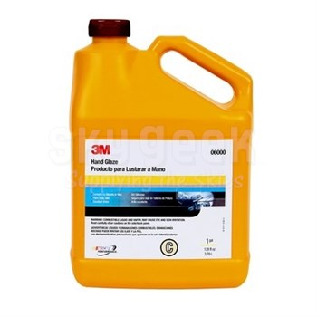 3M™ 051131-06000 Brown Hand Glaze - Gallon Jug