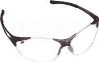 3M 051131-37113 Protective Eyewear - Gray Frame - Clear Lens