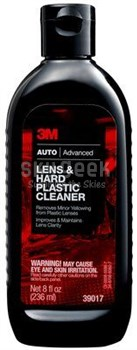 3M™ 051131-39017 Car Care™ Brown Lens & Hard Plastic Cleaner - 8 oz Bottle