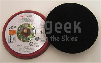 "3M 051144-20352 Low Profile Hookit Disc Pad - 5""x3/8""x5/16-24 External"