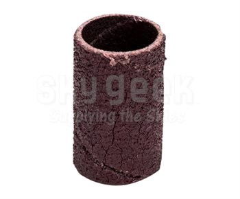 """3M™ 051144-40225 341D Brown 1/2"""" 60 Grit Cloth Band - 100 Bands/Pack"""