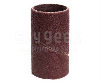 """3M™ 051144-40241 341D Brown 3/4"""" 80 Grit Cloth Band - 100 Bands/Pack"""