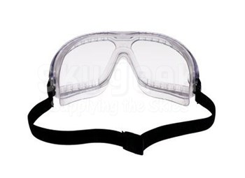 3M™ 078371-62337 Lexa™ Splash GogglesGear™ 16645-00000-10 Large Headband Clear Lens Safety Goggles