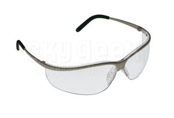 3M™ 078371-62355 Metaliks™ 11343-10000-20 Nickle Frame Clear Lenses Sport Protective Safety Glasses