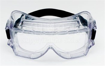 3M™ 078371-62388 Centurion™ 452AF Clear Anti-Fog Lens 40301-00000-10 Safety Impact Goggle