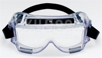 3M™ 078371-62390 Centurion™ 454AF Clear Anti-Fog Lens 40305-00000-10 Safety Splash Goggle