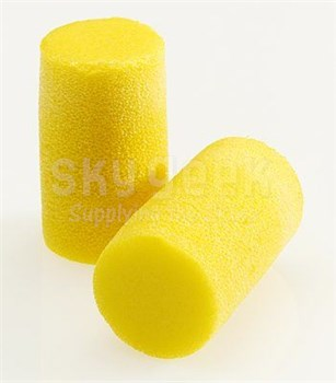 3M™ 080529-10051 E-A-R™ Classic™ Plus 310-1101 Yellow Uncorded Pillow Pack Earplugs - 200 Pair/Box