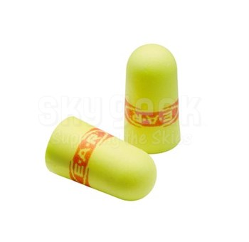 3M™ 080529-12083 E-A-Rsoft™ SuperFit™ 312-1256 Yellow Regular Size Uncorded Poly Bag Earplugs - 200 Pair/Box