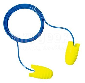 3M™ 080529-12090 E-A-Rsoft™ Grippers™ 312-6001 Yellow/Blue Corded Earplugs - 200 Pair/Box