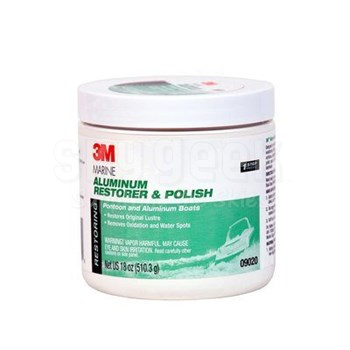 3M™ 051131-09020 Pink Marine Aluminum Restorer and Polish - 18 oz Jar