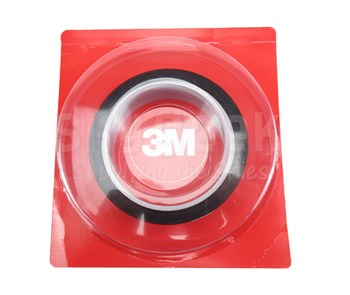 "3M™ 021200-16174 Amber 5413 Polyimide 2.7 Mil Film Tape - 1"" x 36 Yard Roll"
