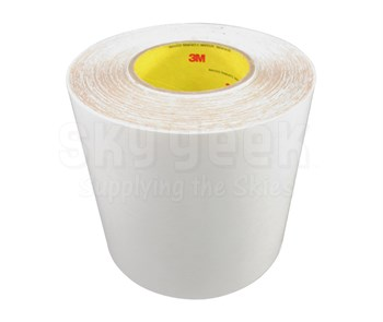 "3M™ 048011-57049 Clear 8560 Polyurethane 14 Mil Protective Tape Paper Liner - 6"" x 36 Yard Roll"