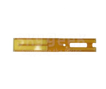 SOCOMORE 310/25 Skyscraper™ Amber Ultem 25mm Wide Airbus Profile Fluted Sealant Removal Tool