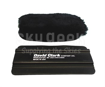 David Clark 40592G-01 Black Sheepskin & Cotton Cover Headset (excluding H20-10) Head Pad