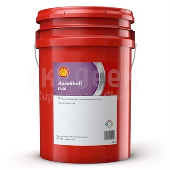 AeroShell™ Fluid 1 Pale Yellow Light Lubricating Mineral Oil - 5 Gallon Plastic Pail