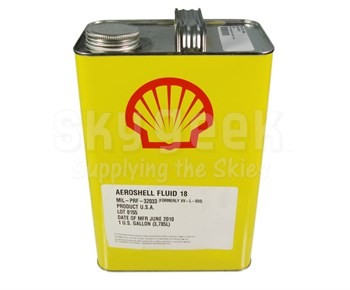 AeroShell Fluid 18 Mineral Lubricating Oil - Gallon Can - MIL-PRF-32033