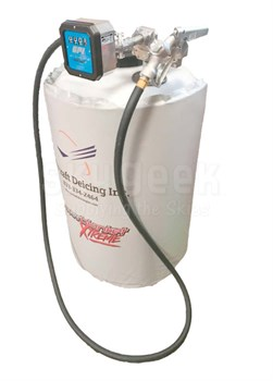 Aircraft Deicing C100ST 100-Gallon 240-Volt/300 Watt Heated De-icing Fluid Storage Tank with Electric Transfer Pump