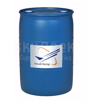 Aircraft Deicing FIV 55G Type IV Aircraft Ground Anti-icing Fluid - 55 Gallon Drum