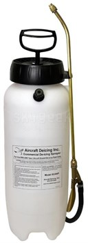 Aircraft Deicing S33HP Translucent 3-Gallon Handheld Commercial De-Icing Fluid Sprayer
