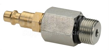 Aircraft Tool Supply 10mm Plug Adapter for the 2E Pressure Tester