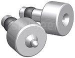 """Aircraft Tool Supply 4264DP-2 Dimple Punch & Die Set - For use with 1/8"""" AN426 Rivets"""