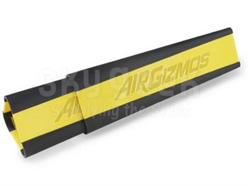 AirGizmos AC1 Yellow/Black Stackable Aircraft Wheel Chocks - 3-Chock/Pack
