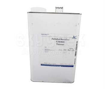AkzoNobel C25/90S Clear AkzoNobel Aerospace CTGS Spec Aerodur/Aeroflex Thinner - Gallon Can