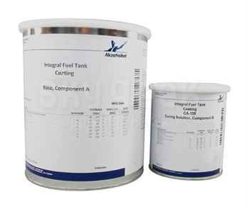 AkzoNobel 454-4-1/CA-109 Yellow BMS 10-20 Type II, Class A, Grade A Spec Integral Fuel Tank Coating - Gallon Kit