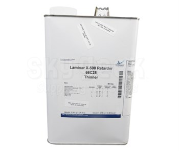 AkzoNobel 66C28 Laminar® X-500 Clear BAC 5837 / PWA 36015 Spec Retarder - Gallon Can