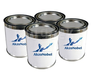AkzoNobel ECL-G-102/PC-233/TR-109 Eclipse® BAC7025 Gloss Gray AkzoNobel Aerospace CTGS Spec High-Solids Polyurethane Enamel Topcoat - 4 Quart Kit