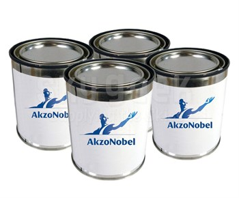 AkzoNobel ECL-G-46/PC-233/TR-109 Eclipse® FS 17875 White BMS 10-60 Type I & II, Class B, Grade D Spec High-Solids Polyurethane Enamel Topcoat - 4 Gallon Kit