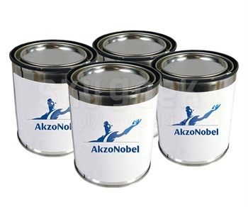AkzoNobel ECL-G-92/PC-233/TR-109 Eclipse BAC 701 Black Polyurethane Paint - 3-Part 4 Gallon Kit