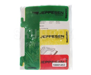 Jeppesen 10001453 Airway Manual Chartabs - Set of 3