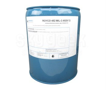ROYCO® 482 Amber MIL-C-6529C2, Type II Spec Corrosion Preventative Oil - 5 Gallon Steel Pail